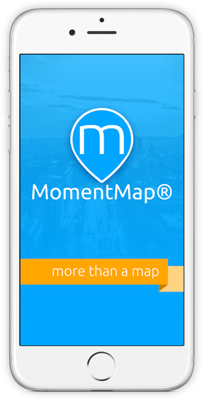 MomentMap Screenshot on iOS